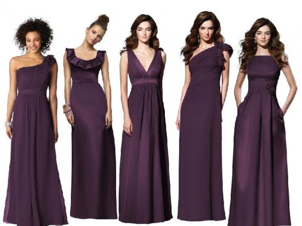 HELP What Color Shoes To Go With An Aubergine Dressmy Mom Says Black Huh