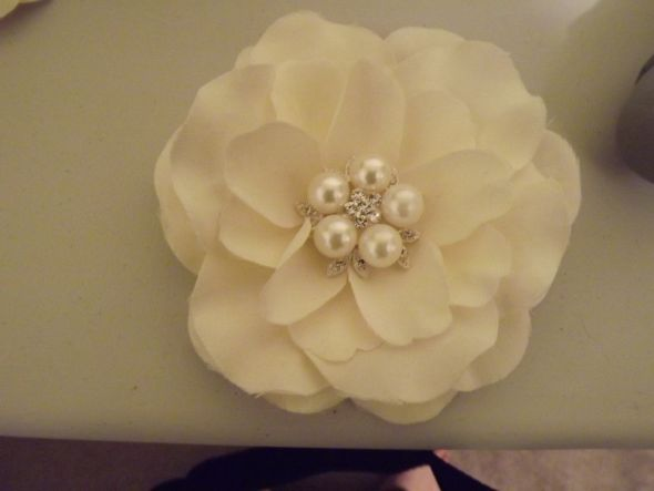 Take one very pretty 1000 Shoe Clip from David 39s Bridal and pull off the
