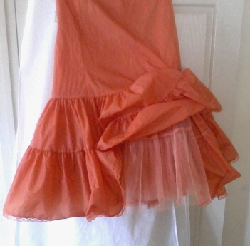 My Orange Crinoline...