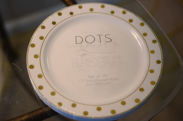 For Sale Reception Plates Tumblers And Flatware The Knot
