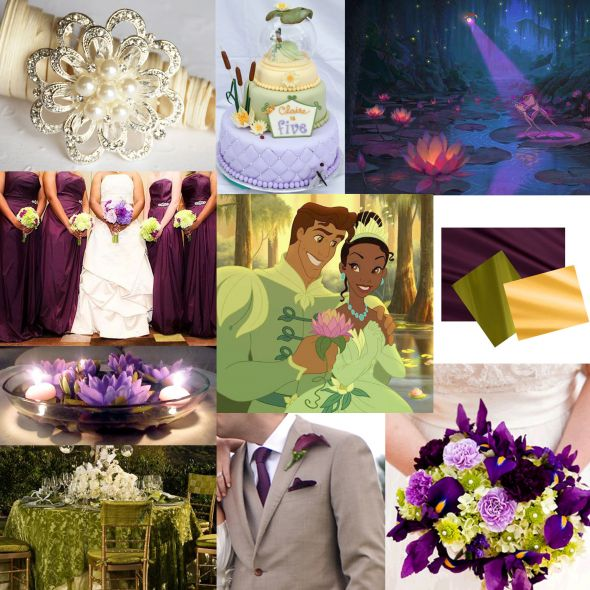 My Princess and the Frog Inspiration Board