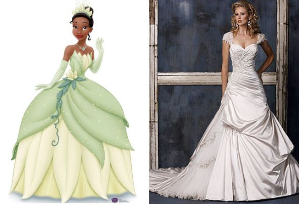 My Disney/Princess and the Frog themed wedding details (pic heavy)