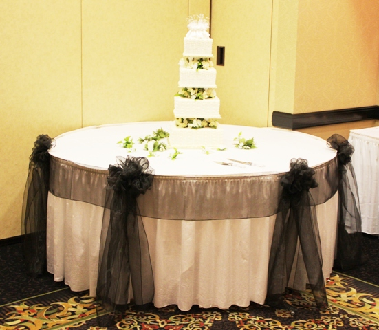 Wedding Reception Cake Table Decorating And Design Ideas Pictures