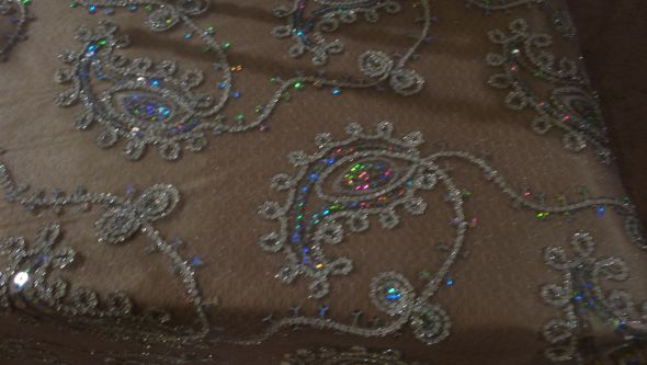 Lace and BLing Table Overlays!! LOVE THEM!!