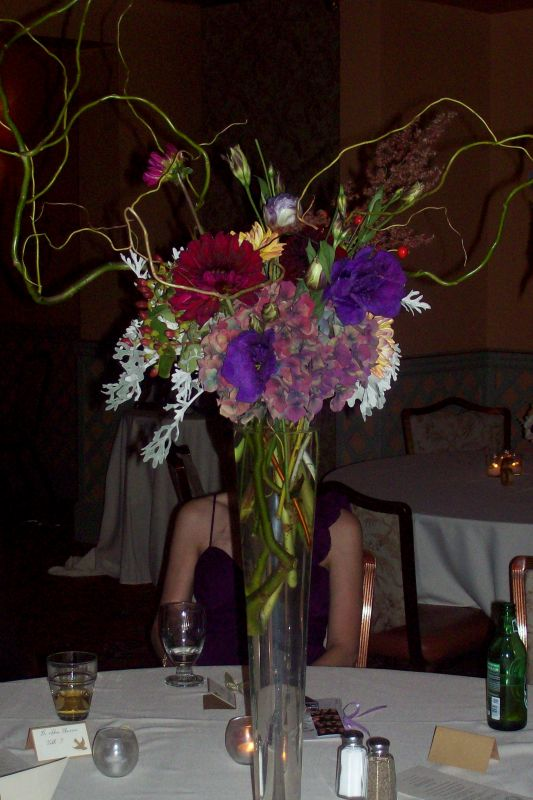 a tall one Average Florist Quotes for Centerpieces wedding reception