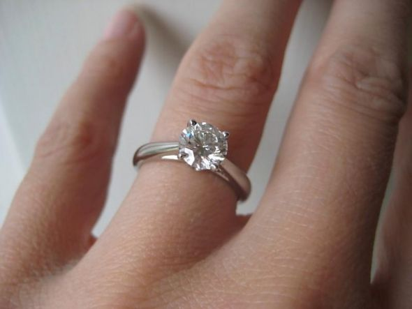How Does YOUR Round Brilliant Diamond Rank wedding Ring1 4 months ago