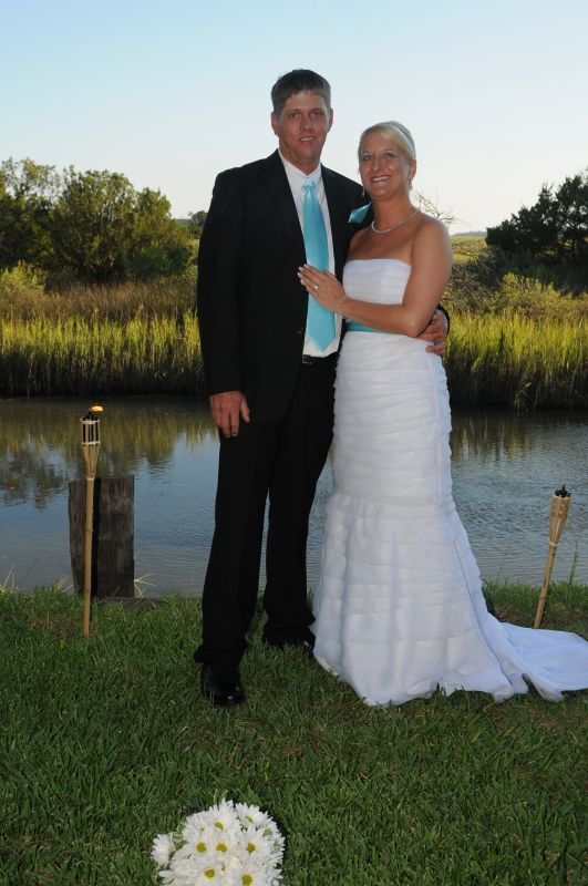 Wantedturquoise pool blue and yellowcountry wedding