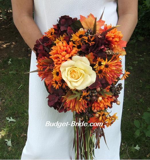 Wedding flowers fake fall wedding flowers fake fall wedding flowers junglespirit Images