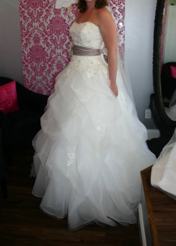 My Mori Lee 1667 :  wedding dress ivory mori lee wedding dress white Bee Dress Photo