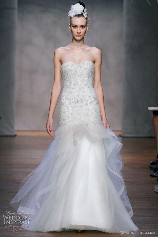 wedding monique lhuillier dress Fall 2011 Wedding Dress Monique
