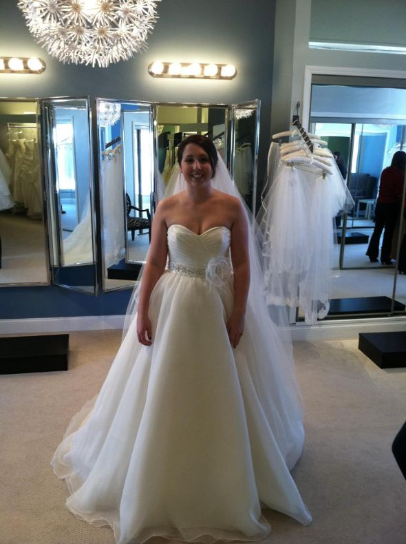 Pics of real brides in Mori Lee Blu 4808 :  wedding mori lee 4808 1 dress Weddingdress