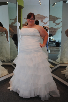 Wedding Dress For Pear Shaped Plus Size