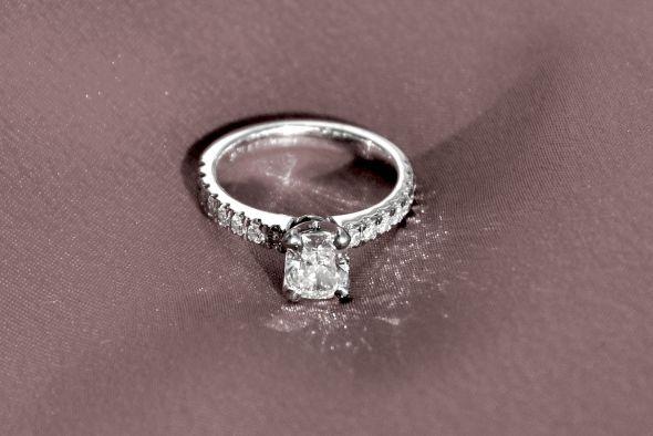 Diamond rings blue nile
