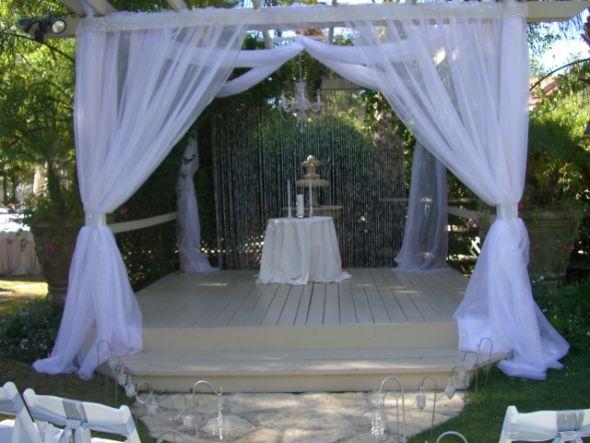 wedding altar ceremony decoration ideas