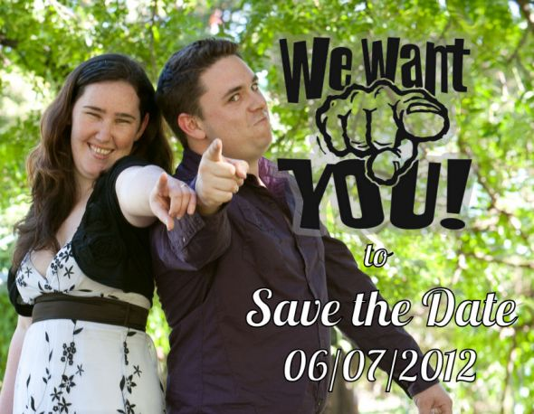 We want you to Save the Date!