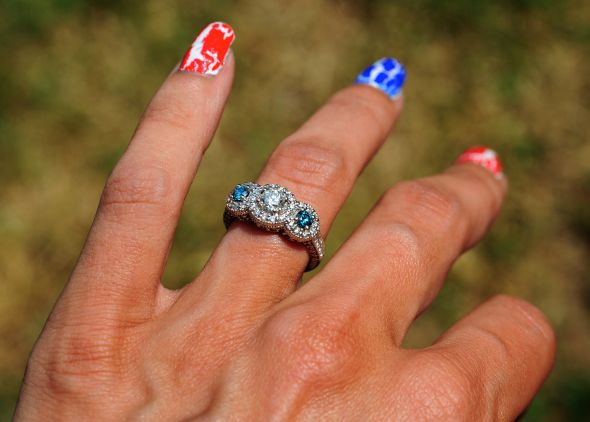 Couple Of Questions For Ladies With Blue Diamonds