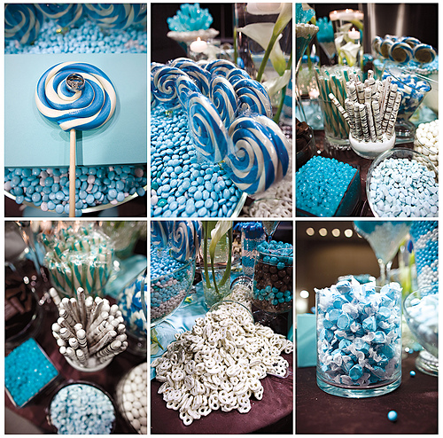 Inspiration : wedding blue bouquet cake inspiration reception red ...
