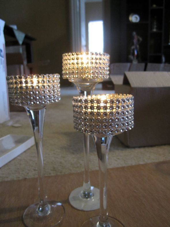 Tonys Blog I Also Want Bling On The Centerpieces I Sent Her The