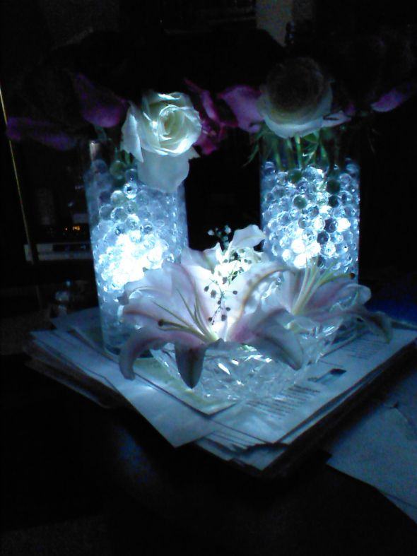 DIY LED Centrepiece 1st draft
