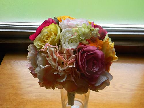 fake flower DIY bouquets from afloral.com (w/ coupon code!)