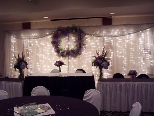 Sitting Pretty Grand Rapids LLC wedding chair covers table runners back