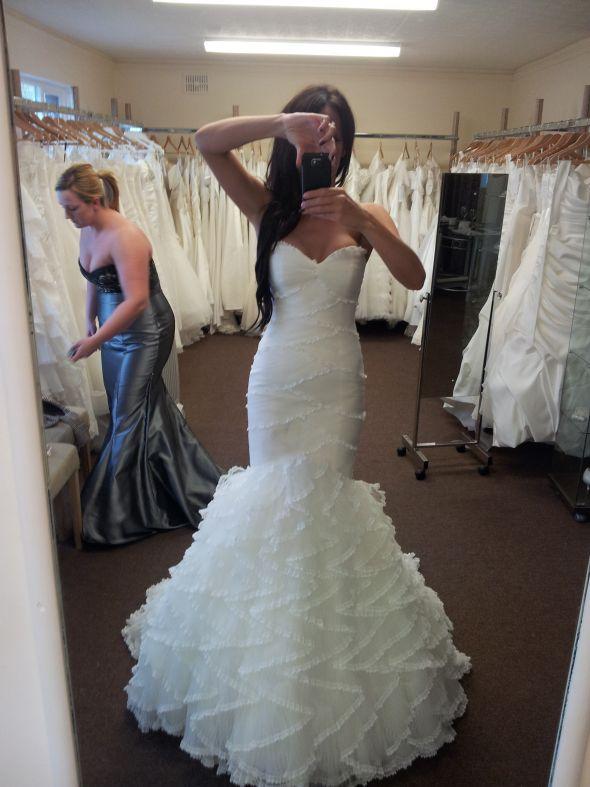 Ang 39 s blog wedding banquet at marigold citymark suckling for Blue irish wedding dress