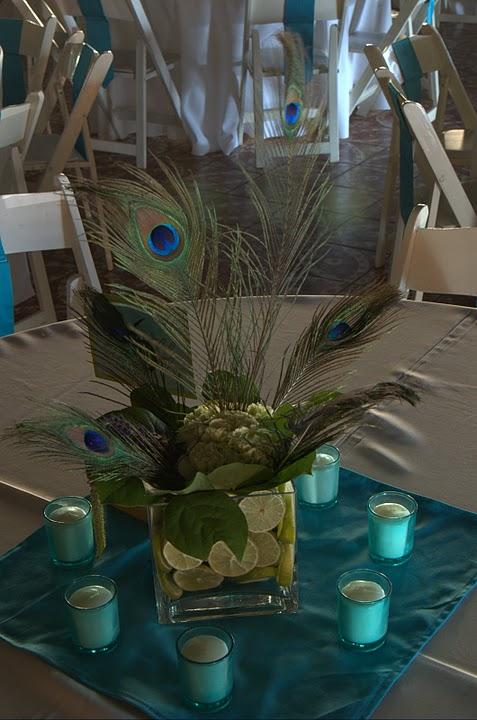 Peacock themed wedding ideas please