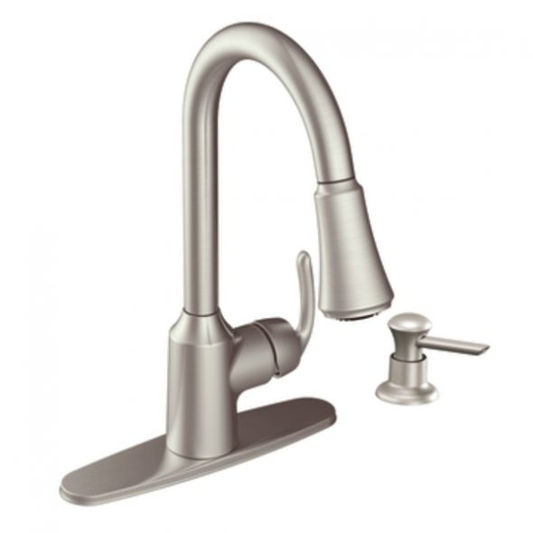 anabelle zone faucets moen plumbing kitchen professional review faucet quot