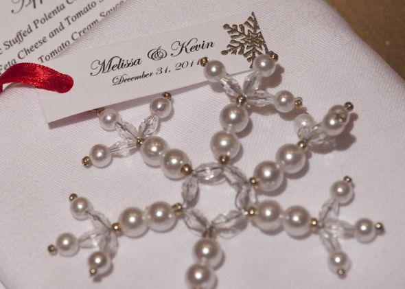 winter wedding favor weddingbee photo gallery