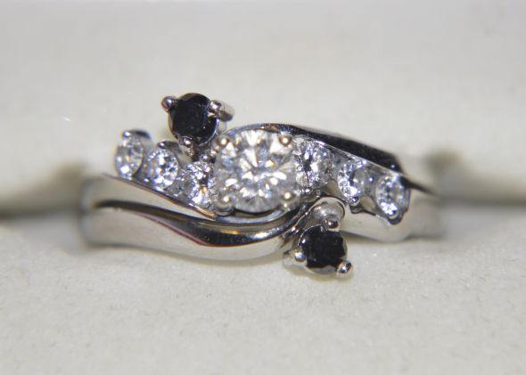 Black Diamond Wedding Rings wedding black diamond My Ring