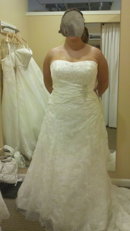 Here 39s my journey of dresses Share yours Pic heavy wedding dress