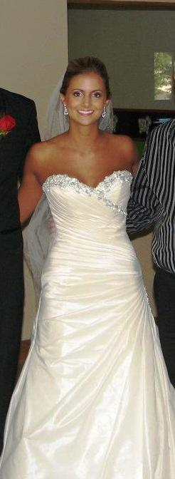 Taffeta gown in photographs weddingbee for Wedding dress consignment pittsburgh