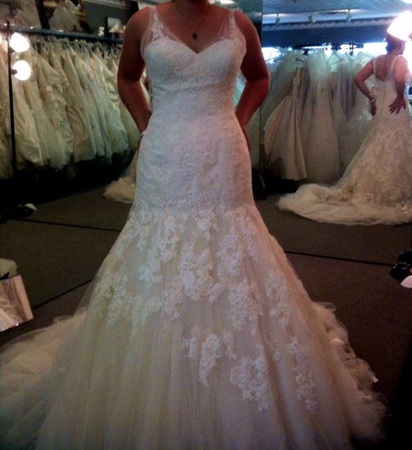 Found my dress: The Enzoani Cincinnati!