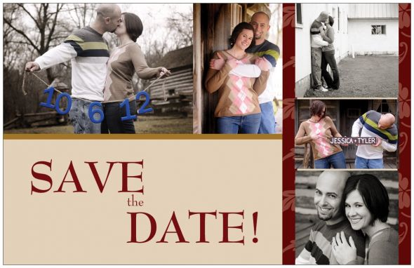 DIY Save the Date Postcards!
