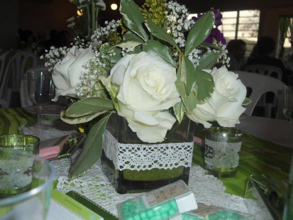 DIY Wedding Certerpiece wedding centerpieces flowers reception diy Picture