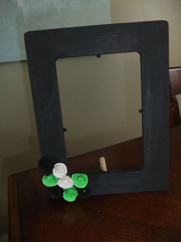 Frame for Guest book table