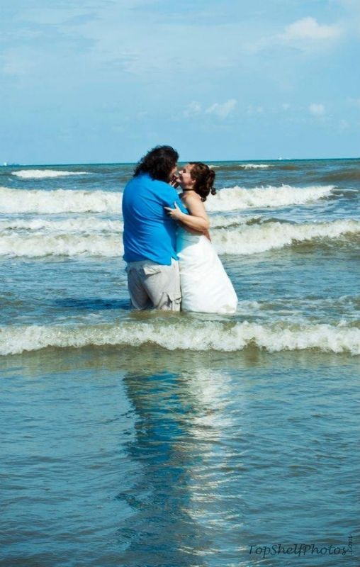 Galveston Island Beach Wedding - Int