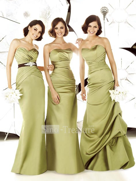 wedding party dresses gold