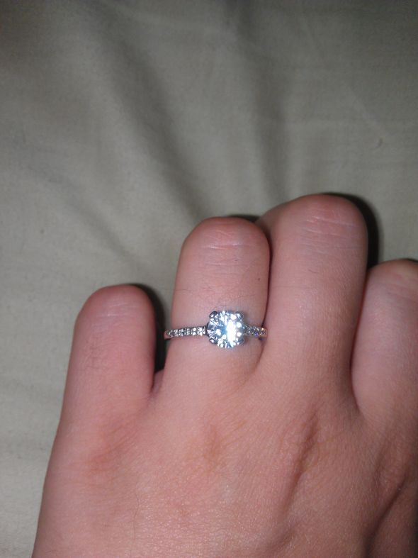 split of wedding engagement ring weddingbee plain diamond bands with awesome rings shank