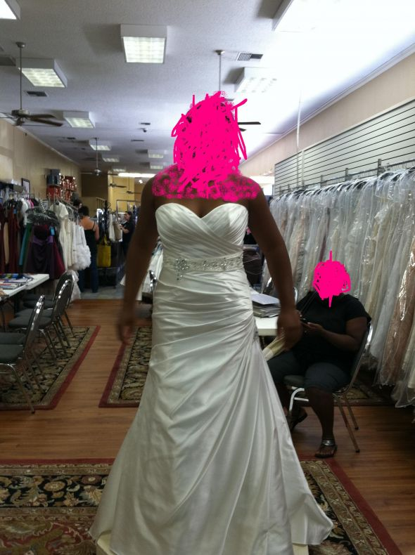 Fit and Flare Wedding Dress for sale 650 obo wedding wedding dress