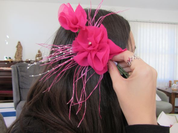 DIY Bridesmaid fascinators