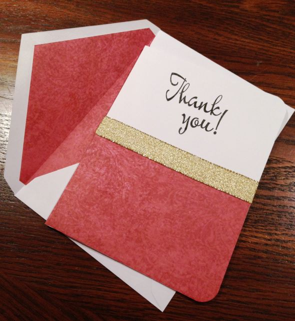 What picture for Thank You cards?
