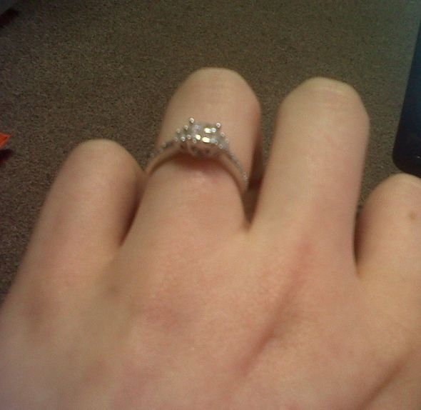Which finger is for a promise ring