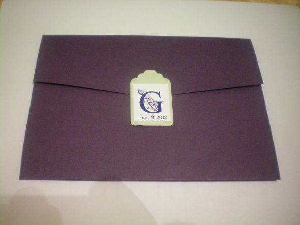 My Dark Purple Invites