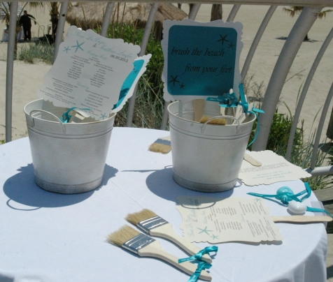 Beach Wedding Sale :  wedding Brushes