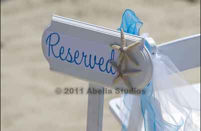 Beach Wedding Sale :  wedding Reserved