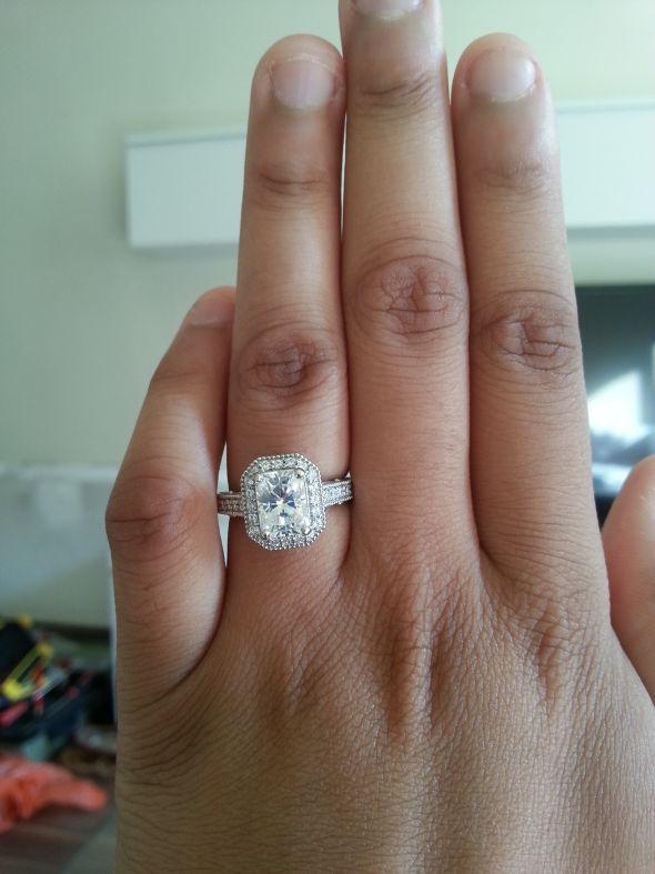 Tara Rushton Engagement Ring