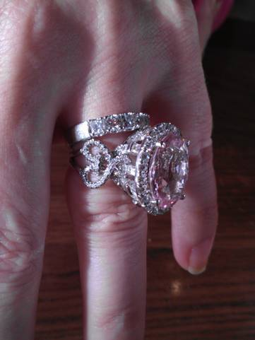 my dream pink ring wedding fairytale wedding rings gorgeous wedding