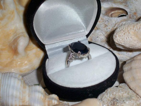My engagement ring!!! - as unique as our relationship <3