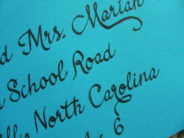 Diy Invitation Calligraphy Printer Tracing Method